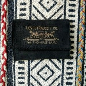 Vintage•Levi Strauss & Co. seude wallet